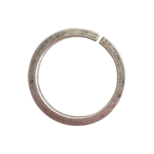 Jumpring 12mm Square Wire CircleAntique Silver