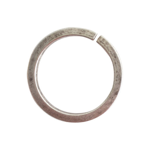 Jumpring 12mm Square Wire Circle<br>Antique Silver 1