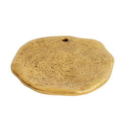 Organic Tag Circle Grande Single HoleAntique Gold