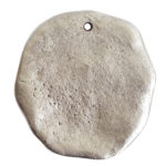 Organic Tag Circle Grande Single HoleAntique Silver