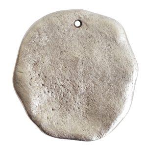 Organic Tag Circle Grande Single HoleAntique Silver