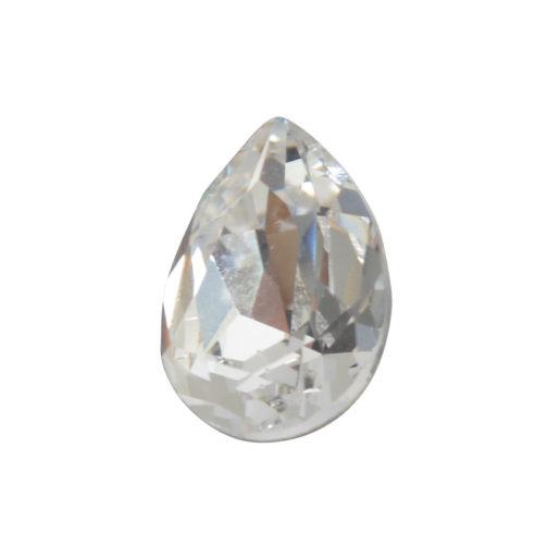 Preciosa Crystals 14mm Pear<br>Crystal 1