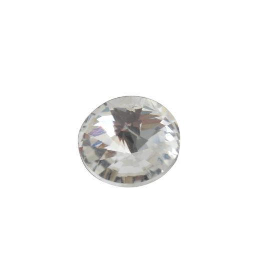 Preciosa Crystals 8mm Circle<br>Crystal 1