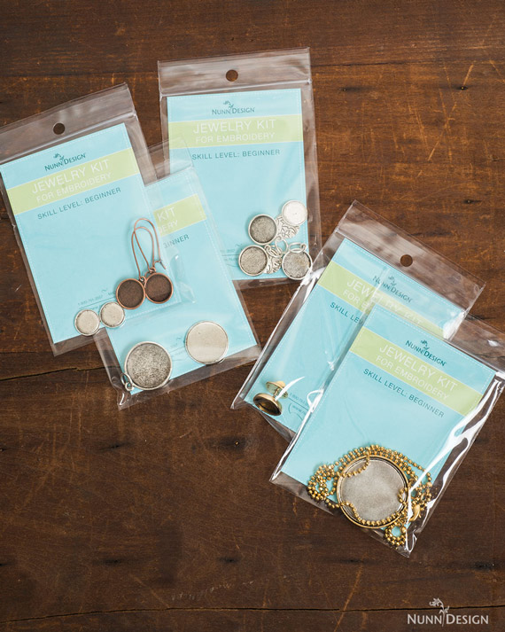 Nunn Design Has A Line Of Jewelry Kits For Embroidery That Are Pre Assembled