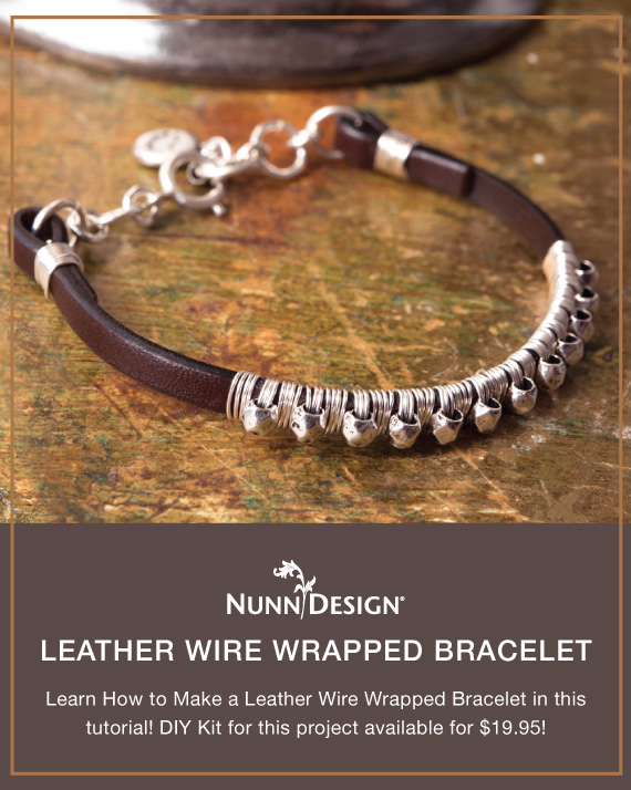 Leather Wire Wred Bracelet