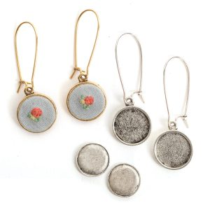 Parts & Pieces for Embroidery-Earrings