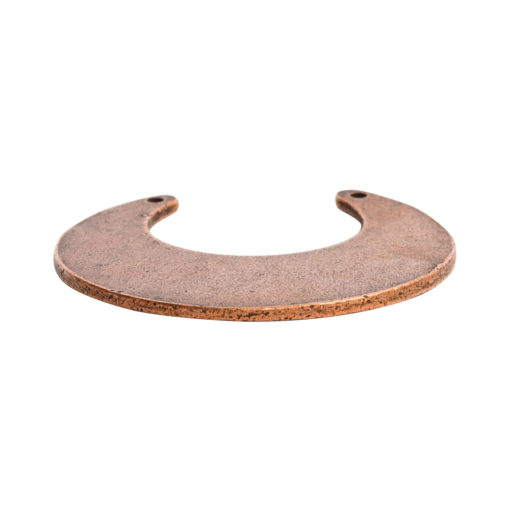 Flat Tag Grande Circle Eclipse Double HoleAntique Copper