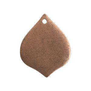 Flat Tag Small Marrakesh Single HoleAntique Copper