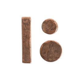 Buy & Try Findings Metal Bead Organic ComboAntique Copper