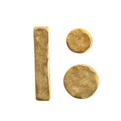 Buy & Try Findings Metal Bead Organic ComboAntique Gold