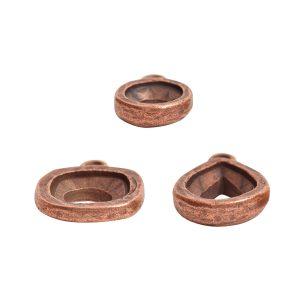 Buy & Try Findings Open Back Bezel ComboAntique Copper