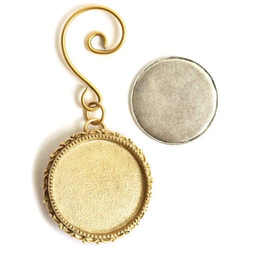 Kit Grande Brooch Circle Ornament 32mmAntique Gold