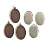 Kit Grande Oval 26x38mm 3 PackAntique Copper