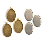 Kit Grande Oval 26x38mm 3 PackAntique Gold