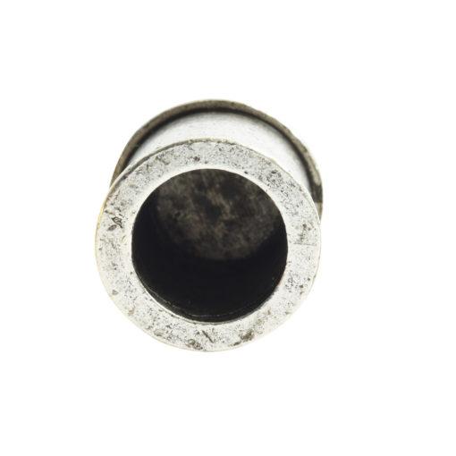 End Cap Channel 7mm Single LoopAntique Silver