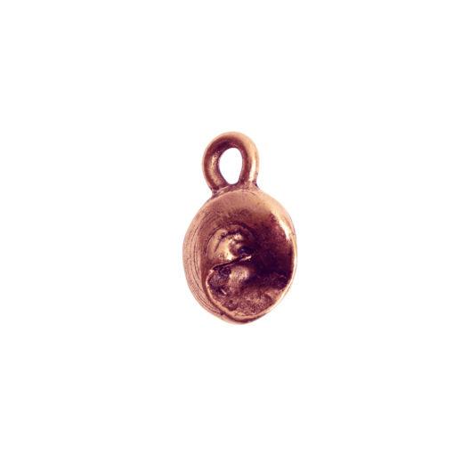 Charm Itsy Sea SnailAntique Copper