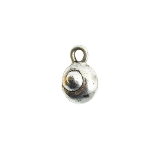 Charm Itsy Sea Snail<br>Antique Silver 1