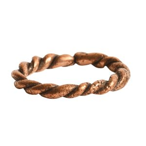Hoop Twisted LargeAntique Copper