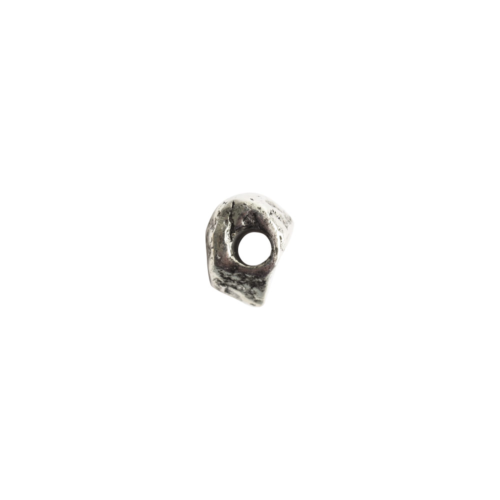 Metal Bead Organic Itsy AssortmentAntique Silver