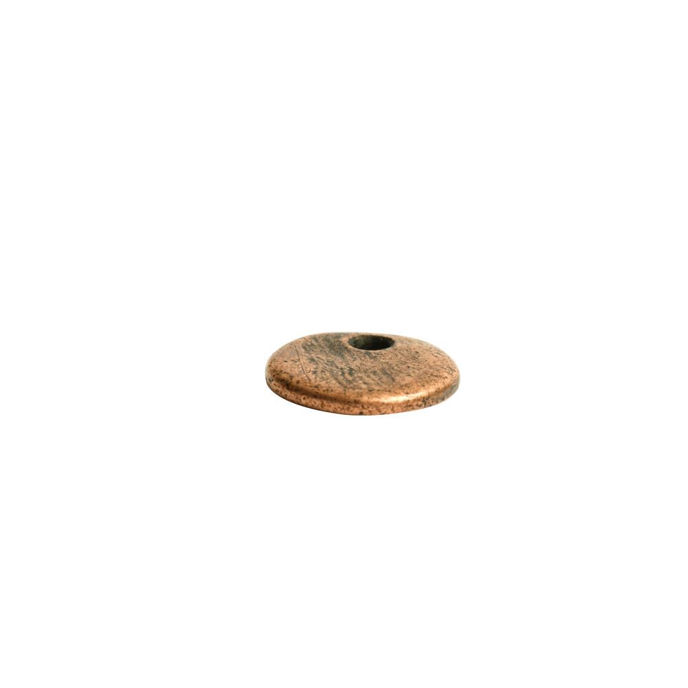 Primitive Tag Mini Circle Single HoleAntique Copper