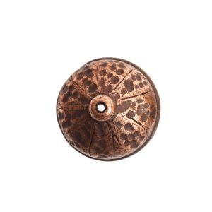 Tassel Top Ornate 9mm Single HoleAntique Copper