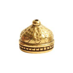 Tassel Top Ornate 9mm Single HoleAntique Gold