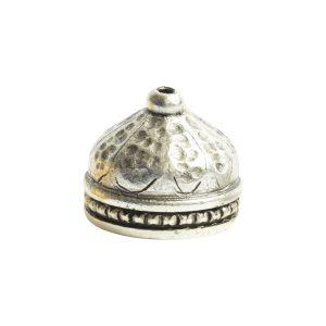 Tassel Top Ornate 9mm Single HoleAntique Silver