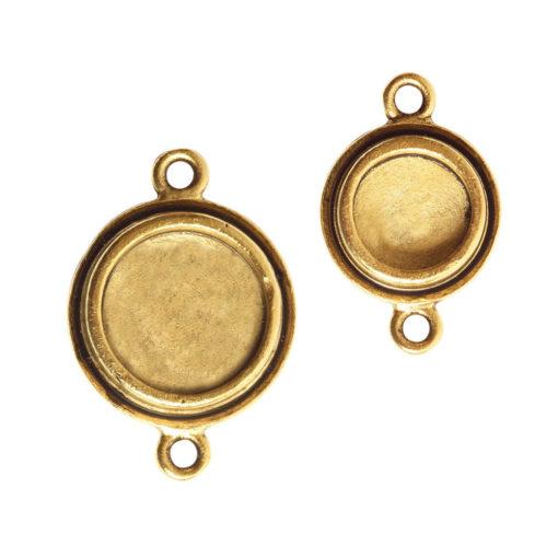 Classic Deep Circle Combo PackAntique Gold