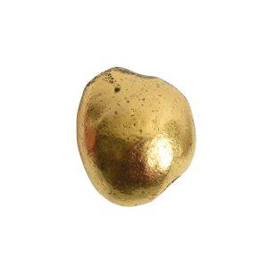 Metal Bead Organic Large AssortmentAntique Gold