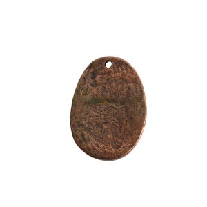 Charm Large FernAntique Copper