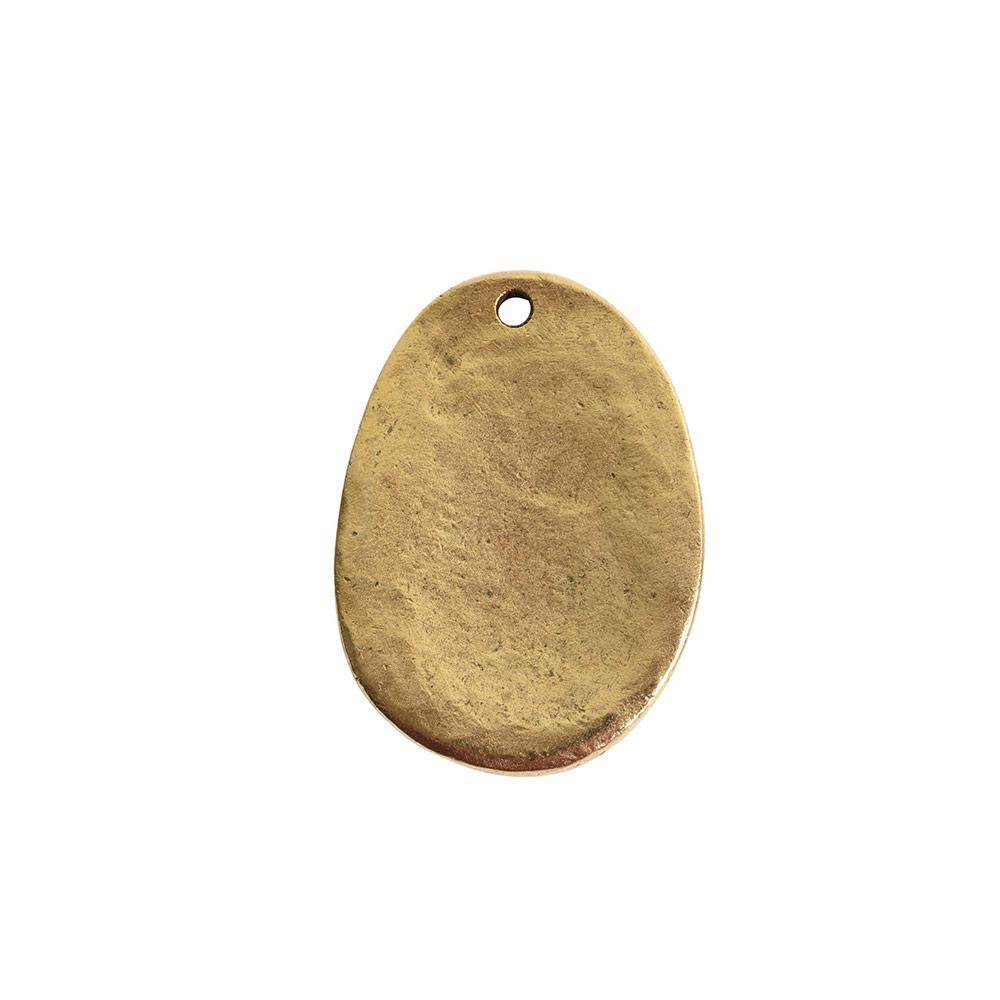 Charm Large FernAntique Gold