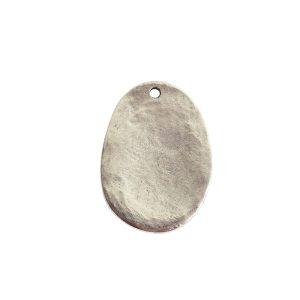 Charm Large FernAntique Silver