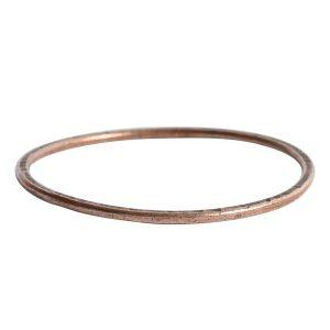 Hoop Flat Grande Circle 50mm DiameterAntique Copper