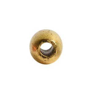 Metal Bead Mini TubeAntique Gold
