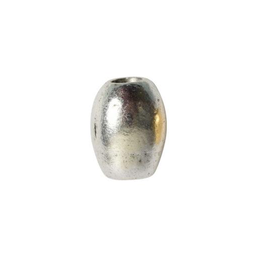 Metal Bead Mini TubeAntique Silver