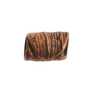 Metal Bead Tube 12mm<br>Antique Copper