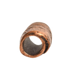Metal Bead Tube 12mmAntique Copper