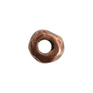 Metal Bead Organic 5mmAntique Copper