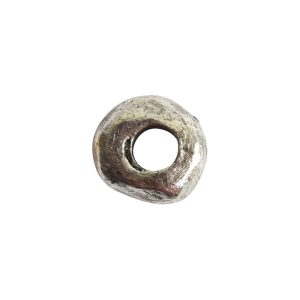 Metal Bead Organic 5mm<br>Antique Silver