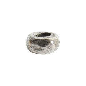 Metal Bead Organic 5mmAntique Silver