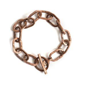 Bracelet 18x10mm Oval LinkAntique Copper