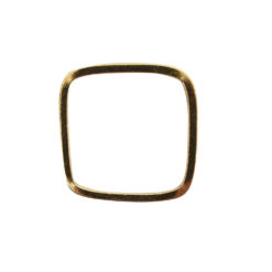 Ring Square size 6Antique Gold