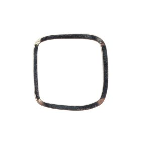 Ring Square size 6Sterling Silver Plate