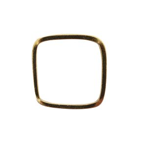 Ring Square size 8Antique Gold