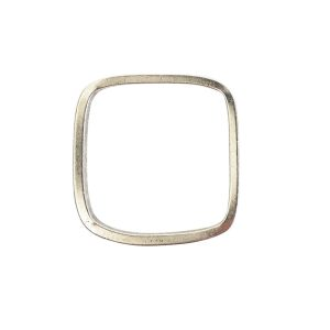 Ring Square size 8Antique Silver