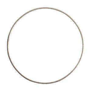 Bangle Bracelet Hammered ThinAntique Silver