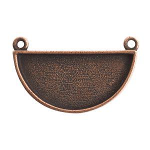 Grande Pendant Half Circle<br>Antique Copper