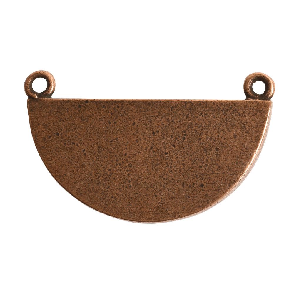 Grande Pendant Half CircleAntique Copper