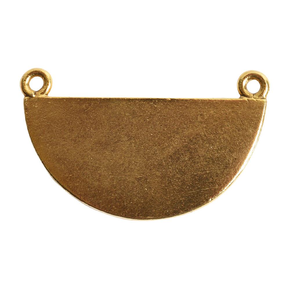 Grande Pendant Half CircleAntique Gold