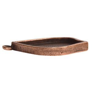 Grande Pendant Marrakesh Single Loop<br>Antique Copper